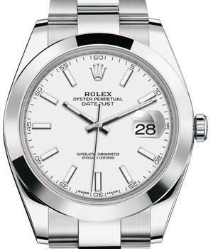 Rolex Datejust 41 126300 White