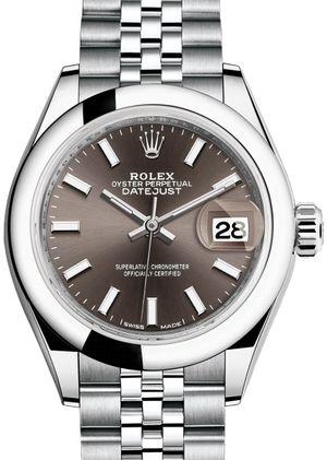 279160 Dark grey Rolex Lady-Datejust 28