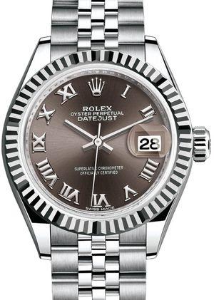 279174 Dark grey Rolex Lady-Datejust 28