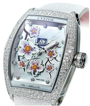 re-belle sakura steel diamond snow setting Cvstos Re-Belle