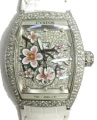 re-belle sakura steel diamond snow setting diamond Cvstos Re-Belle