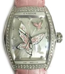 re-belle papillon steel diamond rose butterfly Cvstos Re-Belle