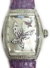 re-belle papillon steel diamond purple butterfly Cvstos Re-Belle
