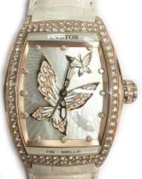 re-belle papillon red gold diamond white butterfly Cvstos Re-Belle