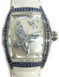 re-belle papillon steel blue sapphires Cvstos Re-Belle