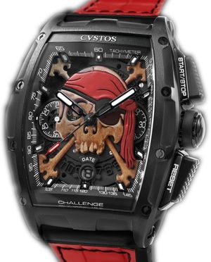 challenge chrono 2 black steel invaders pirate Cvstos Challenge Chrono