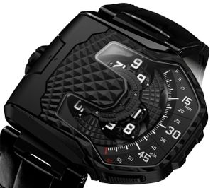 UR-T8 All black Urwerk T8 Collection