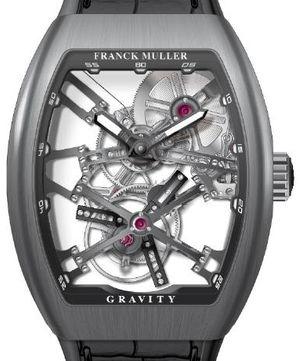 V 45 T GRAVITY CS SQT TT BR.NR Franck Muller Vanguard Gravity