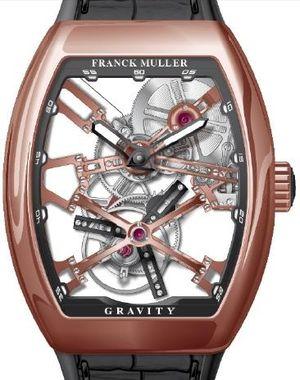 V 45 T GRAVITY CS SQT 5N.NR Franck Muller Vanguard Gravity