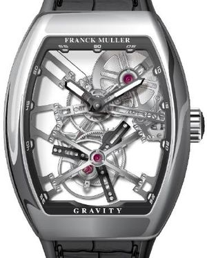 V 45 T GRAVITY CS SQT OG.NR Franck Muller Vanguard Gravity