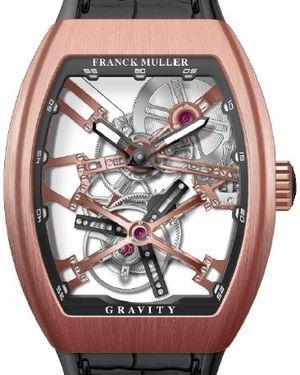 V 45 T GRAVITY CS SQT 5NBR.NR Franck Muller Vanguard Gravity