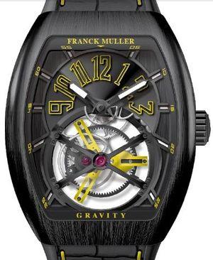 V 45 T GRAVITY CS TT NR BR.JA Franck Muller Vanguard Gravity