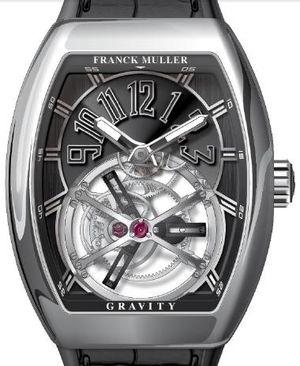 V 45 T GRAVITY CS AC.NR Franck Muller Vanguard Gravity
