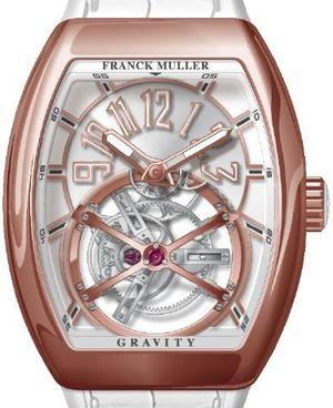 V 45 T GRAVITY CS 5N.BC Franck Muller Vanguard Gravity