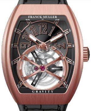 V 45 T GRAVITY CS 5NBR.NR Franck Muller Vanguard Gravity