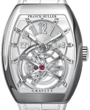 V 45 T GRAVITY CS TT OG.BC Franck Muller Vanguard Gravity