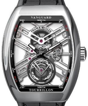 V 45 T SQT AC.NR Franck Muller Vanguard Skeleton