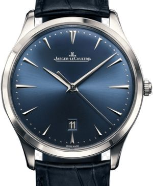 Blue Edition Bucherer Jaeger LeCoultre Master Ultra Thin