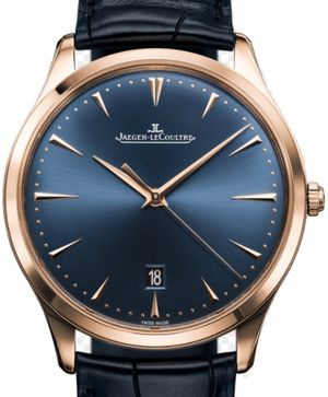 Blue Edition Bucherer Rose Gold Jaeger LeCoultre Master Ultra Thin