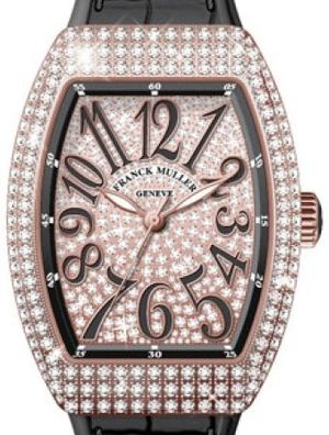 V 35 SC AT FO D CD 5N.NR DIAM.NR 5N Franck Muller Vanguard Lady Automatic
