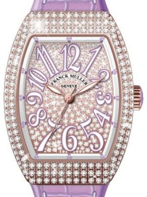 V 35 SC AT FO D CD 5N.VL DIAM.BLC VL Franck Muller Vanguard Lady Automatic