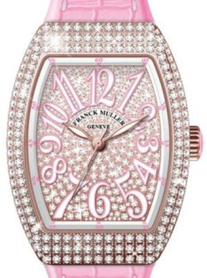 V 35 SC AT FO D CD 5N.RS DIAM.BLC RS Franck Muller Vanguard Lady Automatic