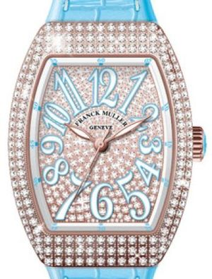 V 35 SC AT FO D CD 5N.BL DIAM.BLC BL Franck Muller Vanguard Lady Automatic