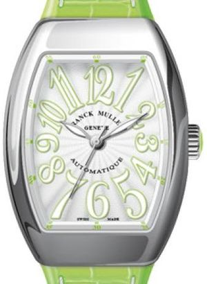 Franck Muller Vanguard Lady Automatic V 35 SC AT FO OG.VE BLC.BLC VE