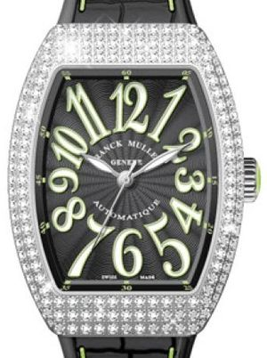 Franck Muller Vanguard Lady Automatic V 35 SC AT FO D OG.VE NR.BLC VE