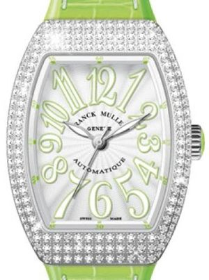 Franck Muller Vanguard Lady Automatic V 35 SC AT FO D OG.VE BLC.BLC VE