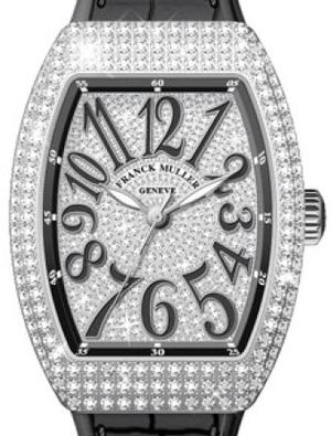 Franck Muller Vanguard Lady Automatic V 35 SC AT FO D CD OG.NR DIAM.NR AC