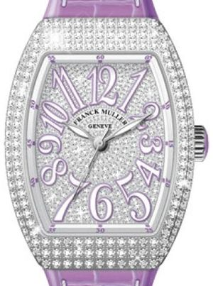 Franck Muller Vanguard Lady Automatic V 35 SC AT FO D CD OG.VL DIAM.BLC VL