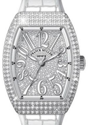 Franck Muller Vanguard Lady Automatic V 29 SC AT FO D CD AC.BC DIAM.BLC AC