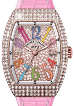Franck Muller Vanguard Lady Automatic V 29 SC AT FO COL DRM D CD 5N.RS DIAM.COL DRM 5N
