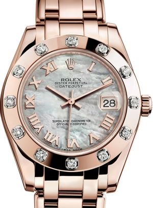 81315 White mother-of-pearl Rolex Pearlmaster