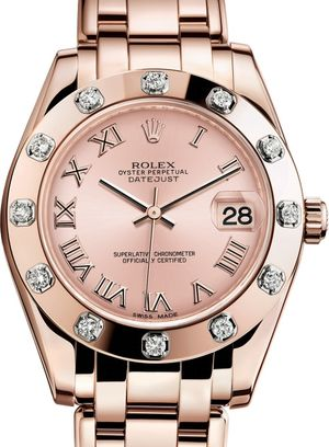 81315 Pink Rolex Pearlmaster
