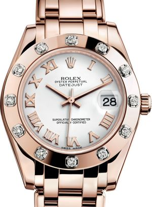 81315 White Rolex Pearlmaster