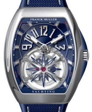 Franck Muller Vanguard Yachting V 45 T GRAVITY CS YACHTING AC.BL BL.BLAC