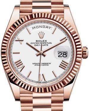 228235 White Rolex Day-Date 40