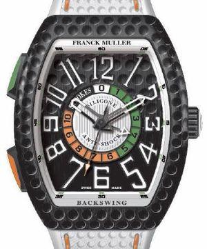 Franck Muller Vanguard Backswing V 45 С GOLF TTNRBR.BC GOLF NR BR.BLC NR