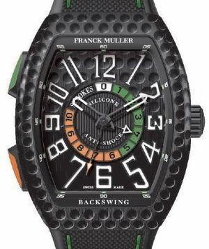 Franck Muller Vanguard Backswing V 45 С GOLF TTNRBR.NR GOLF NR BR.BLC NR