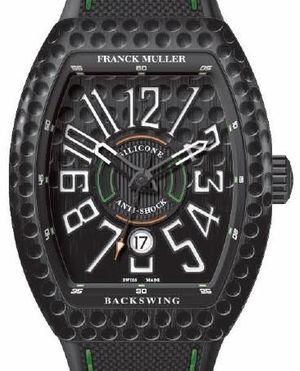Franck Muller Vanguard Backswing V 45 SC DT GOLF TTNRBR.NR GOLF NR BR.BLC NR