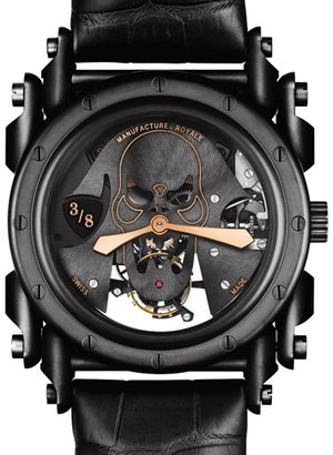 Manufacture Royale Androgyne Collection Manual winding on steel PVD Case