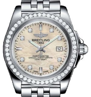 Breitling Galactic Lady A7133053/A801/792A