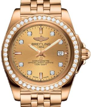 Breitling Galactic Lady H7133053/H550/792H