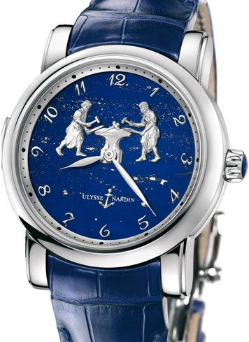 719-61/E3 Ulysse Nardin часы Forgerons Minute Repeater