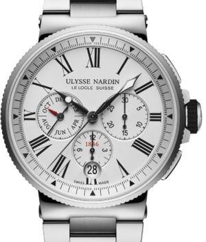 1533-150-7M/40 Ulysse Nardin Marine Chronograph
