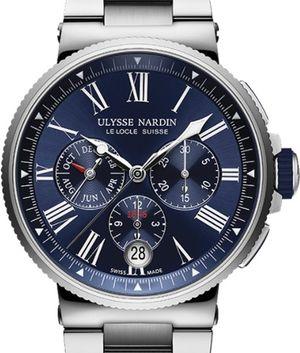 1533-150-7M/43 Ulysse Nardin Marine Chronograph