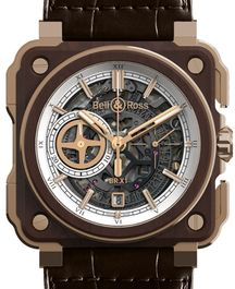 Часы Bell & Ross BR-X1 Instrument de Marine Skeleton Chronograph