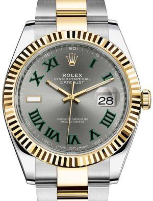 Rolex Datejust 41 126333 Slate Oyster Bracelet